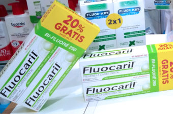 Pasta dental Fluocaril con 20% GRATIS